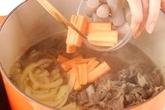 たっぷり肉豆腐の作り方2
