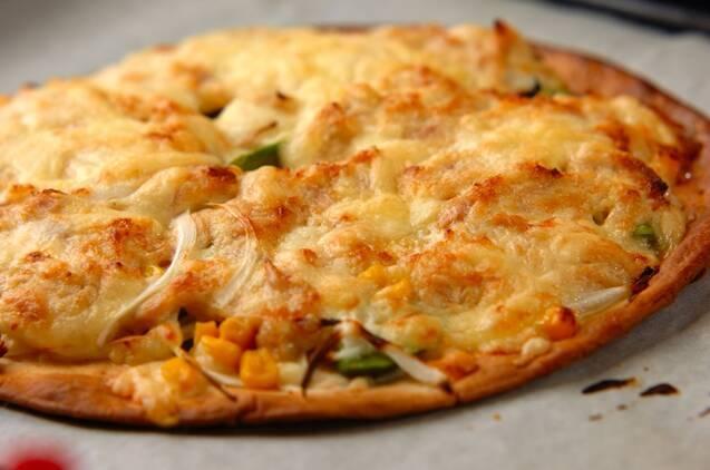 Wチーズのアボカドピザの作り方の手順5