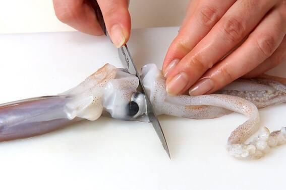 イカのショウガ焼きの作り方の手順1