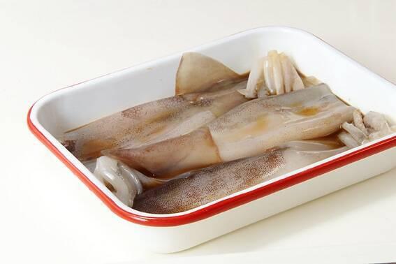 イカのショウガ焼きの作り方の手順2