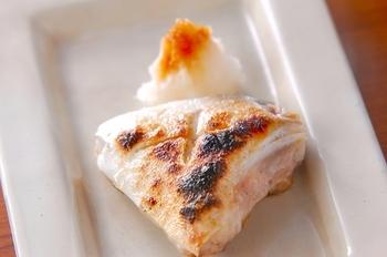 ハマチの塩焼き