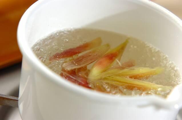 キュウリとミョウガの甘酢漬けの作り方の手順2