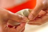 小松菜たっぷり餃子の作り方2