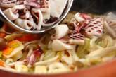 イカとネギのオイスター炒めの作り方4