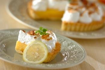 レモンのメレンゲタルト