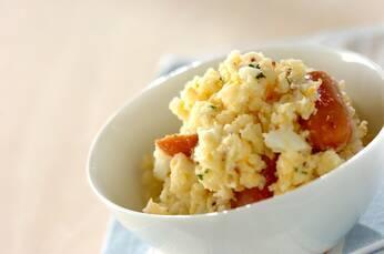 ソーセージと卵のコク旨ポテトサラダ