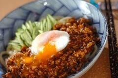 キノコジャージャー麺