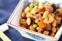 豚肉入り五目豆
