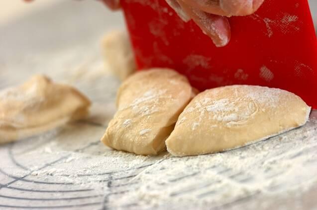 しょうゆ麹と黒豆のパンの作り方の手順4
