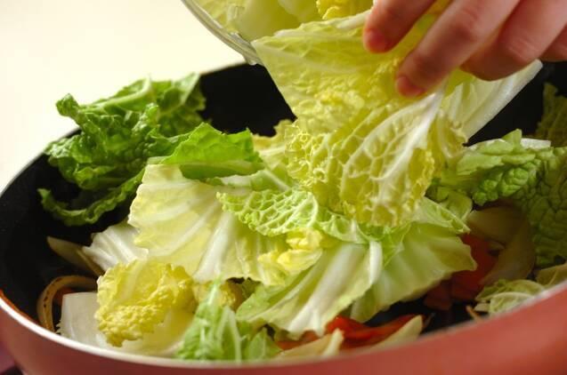 八宝菜の作り方の手順5