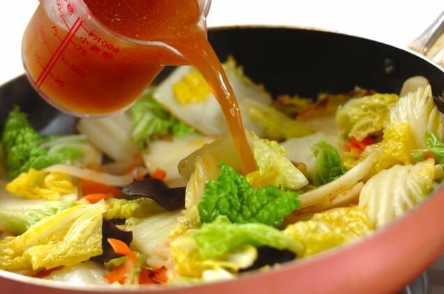 八宝菜の作り方の手順6