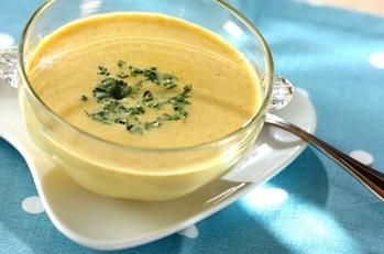 冷製コーンスープ