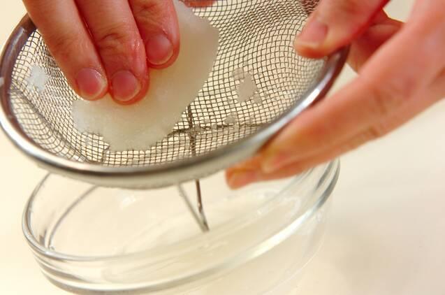 ジャコのサッパリおろしの作り方の手順1