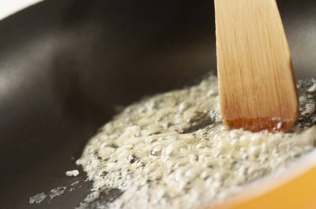 ポルチーニ茸のパスタの作り方の手順2