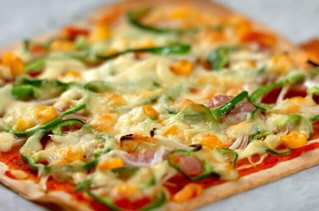 春巻きの皮でピザの作り方の手順5
