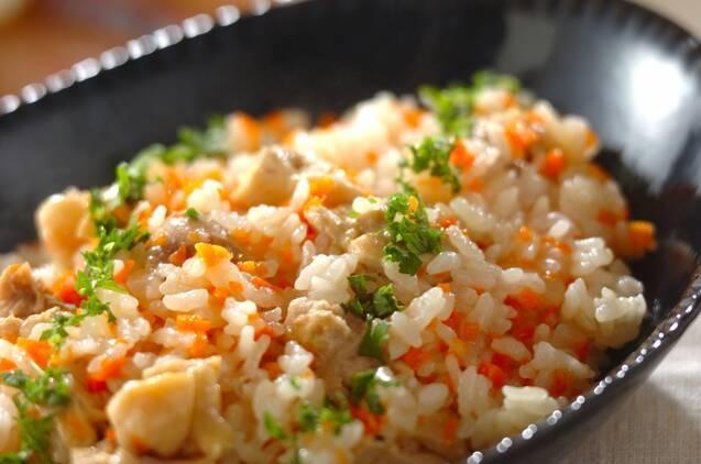 土鍋チキンライス