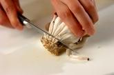 ツナとシメジの炊き込みご飯の下準備2