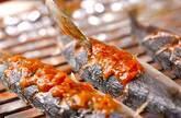 サンマの梅焼きの作り方7