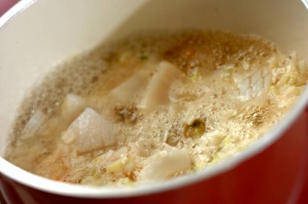 海鮮あんかけオムレツの作り方の手順2