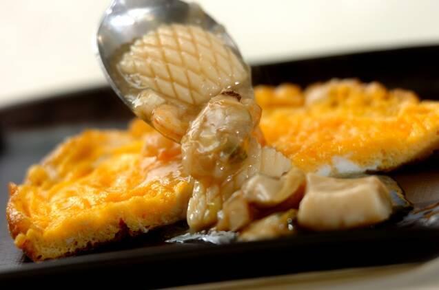 海鮮あんかけオムレツの作り方の手順5