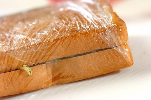 春キャベツ入り豚のショウガ焼きサンドの作り方の手順6