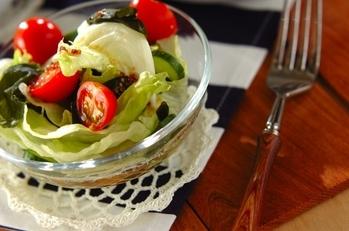 ヘルシーワカメのサラダ