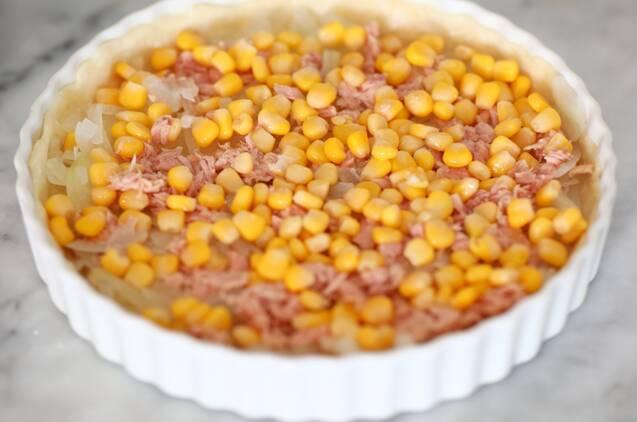 冷凍もできる作り置き!ツナとコーンのキッシュの作り方の手順5
