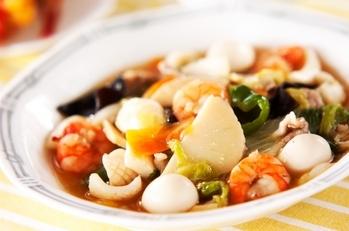 中華の定番!具だくさん八宝菜