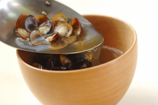 シジミ汁の作り方の手順3