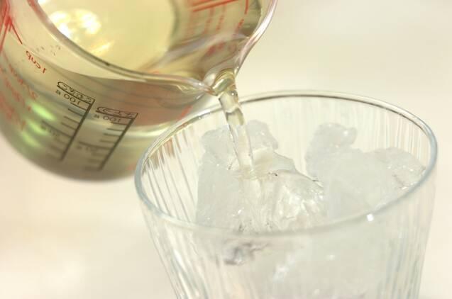 青じそジュースの作り方の手順3