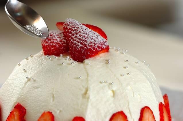 ブルーベリーのドームケーキの作り方の手順14
