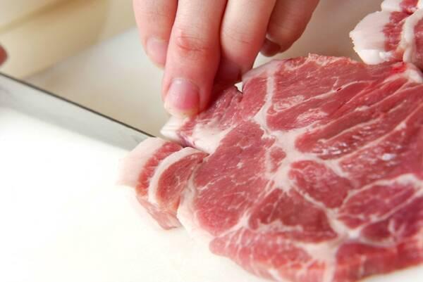 豚肉のマリネステーキの作り方の手順1