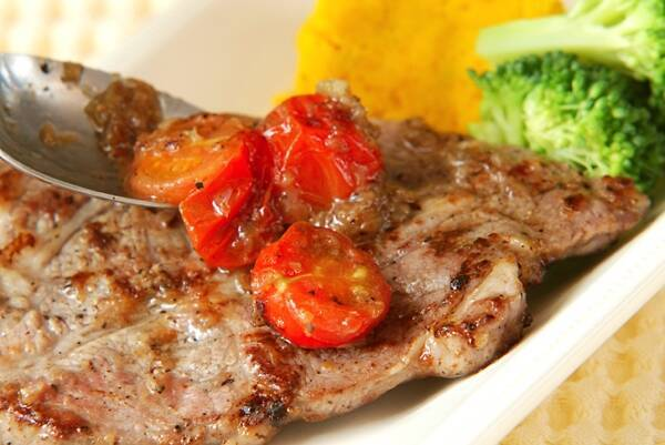 豚肉のマリネステーキの作り方の手順7