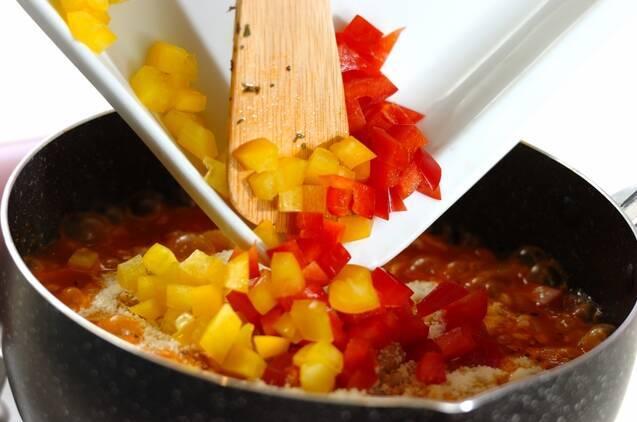 大豆のトマトリゾットの作り方の手順5