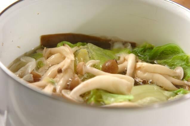 ヘルシー肉団子スープの作り方の手順3