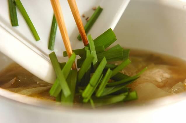 ヘルシー肉団子スープの作り方の手順5