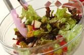 鶏ささ身とトマトのチョップドサラダの作り方7