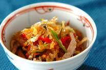 糸寒天の中華サラダ