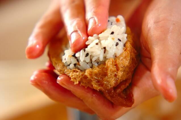 根菜入りいなり寿司の作り方の手順9