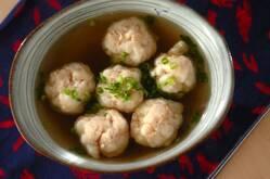 ハンペン団子のスープ