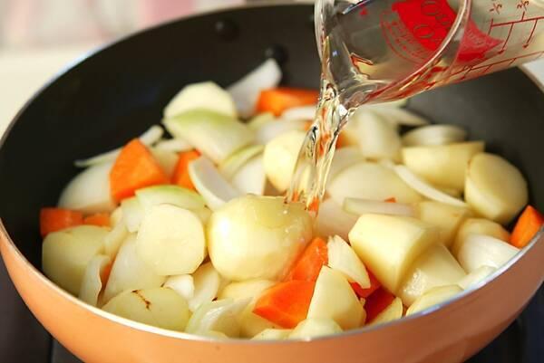 あっさり野菜シチューの作り方の手順7