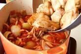 鶏肉のトマト煮の作り方9
