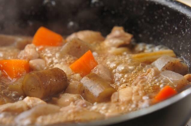 鶏ゴボウ煮の作り方の手順5