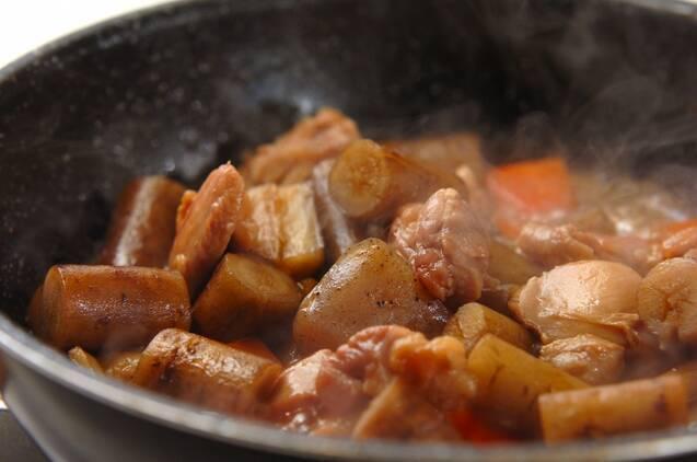 鶏ゴボウ煮の作り方の手順6