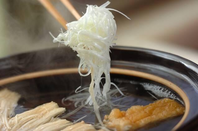 豚肉のしゃぶしゃぶの作り方の手順4