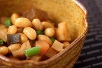 水煮大豆の五目煮