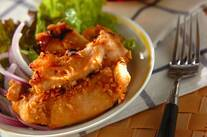 チキンのピーナッツ焼き
