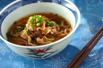 豚しゃぶ煮麺