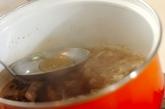 豚しゃぶ煮麺の作り方1