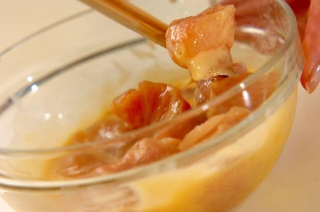 揚げ鶏のさわやかレモンあんかけの作り方の手順3